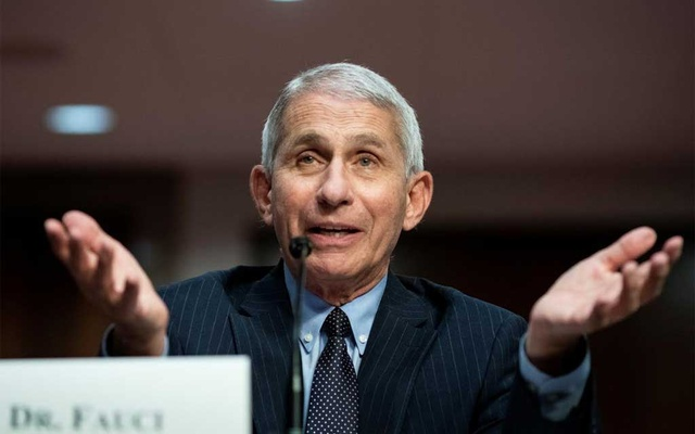 Anthony Fauci, director of the National Institute of Allergy and Infectious Diseases, speaks during a Senate Health, Education, Labor and Pensions Committee hearing on efforts to get back to work and school during the coronavirus disease (COVID-19) outbreak, in Washington, DC, US June 30, 2020. REUTERS