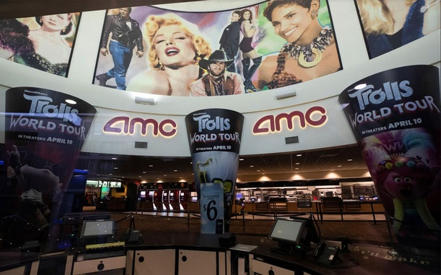 The lobby of the AMC theatre is pictured during the outbreak of the coronavirus disease (COVID-19), in Burbank, California, US, June 30, 2020. Reuters