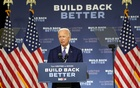 Former Vice President Joe Biden, the Democratic Party's presumptive presidential nominee, speaks in Wilmington, Del, on Tuesday, Jul 28, 2020. Michelle V Agins/The New York Times