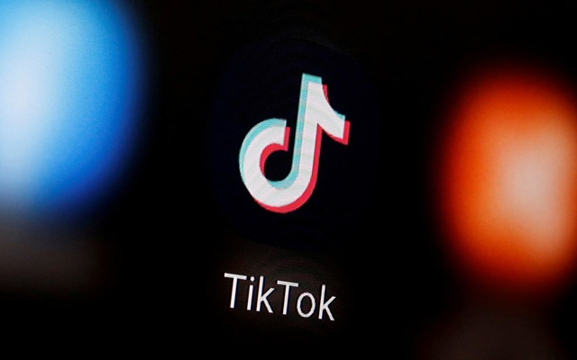 A TikTok logo is displayed on a smartphone in this illustration. REUTERS