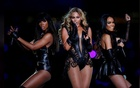 Beyonce (C) and Destiny's Child perform during the half-time show of the NFL Super Bowl XLVII football game in New Orleans, Louisiana, Feb 3, 2013. REUTERS