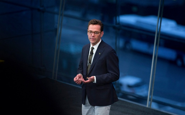 James Murdoch, the chief executive of 21st Century Fox and Rupert Murdoch's son, in New York, Apr 19, 2017. Murdoch resigned on Friday from the board of News Corp, stepping aside from his final formal role within the media empire of his father, Rupert Murdoch. Kevin Hagen/The New York Times