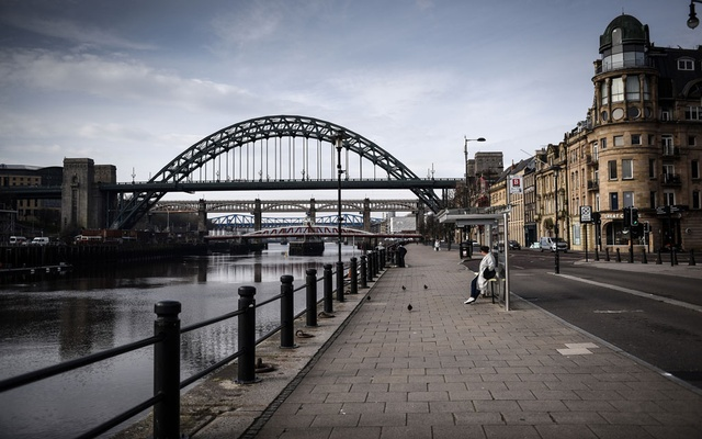 FILE -- A view of the Tyne Bridge in Newcastle upon Tyne, England, March 24, 2020. Thursday, July 30. (Mary Turner/The New York Times)