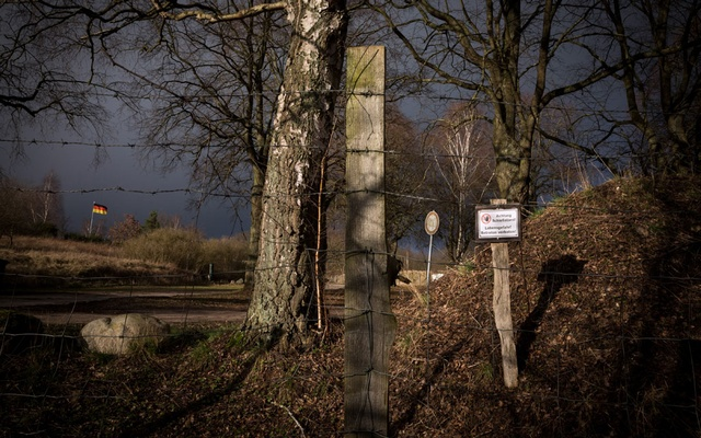 The shooting range in Gustrow, Germany, where members of the Nordkreuz, a neo-nazi group, gathered, Feb. 26, 2020. (Gordon Welters/The New York Times)