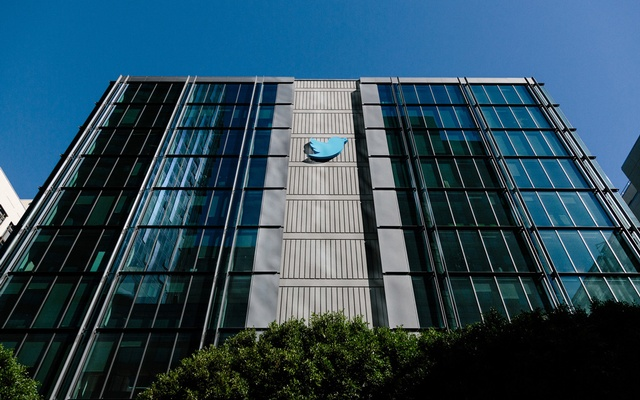 Twitter's offices in San Francisco, Oct 24, 2017. The New York Times