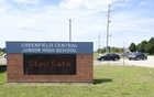 Greenfield Central Junior High School outside Indianapolis, where a student received a positive coronavirus test on the first day of classes, July 31, 2020. The New York Times
