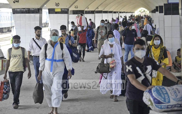 Bangladesh records 39 new virus deaths, cases approach 250,000