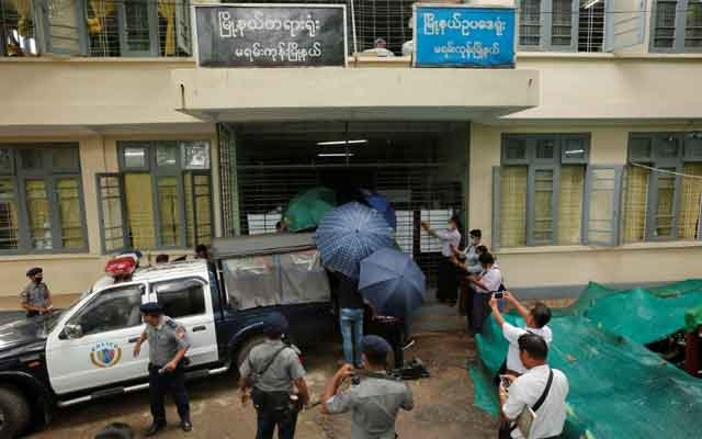 Canadian preacher jailed in Myanmar for holding services during virus ban