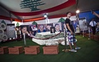 Visitors pay their respects at the tomb of former Prime Minister Rafik Hariri in Beirut on July 24, 2010. THE NEW YORK TIMES
