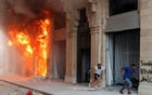 Clashes erupt in Beirut at blast protest as Lebanon's anger boils over