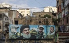 A billboard shows Hezbollah's leader, Hassan Nasrallah, and other Shiite leaders in Beirut's Khandaq el-Ghamiq neighbourhood, a stronghold of Hezbollah, Aug 13, 2020. In a Shiite stronghold, people agree that the political system is dysfunctional and needs replacing, but not if that means Hezbollah ceding its power. (Diego Ibarra Sanchez/The New York Times)