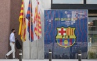 FC Barcelona's President Josep Maria Bartomeu arrives at their headquarters before a board meeting in Barcelona, Spain August 17, 2020. Reuters