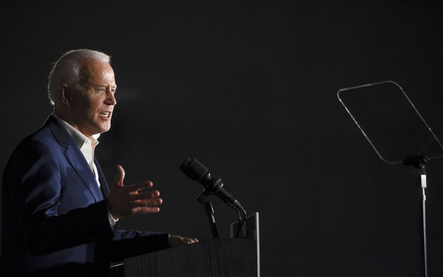 Joe Biden speaks at a presidential primary campaign event at Tougaloo College in Jackson, Miss, Mar 8, 2020. Biden's speech when he accepts the Democratic presidential nomination in the most important address of his career, since he charged onto the national stage as a 29-year-old senator-elect and sparked his first presidential speculation soon after. Courtland Wells/The New York Times