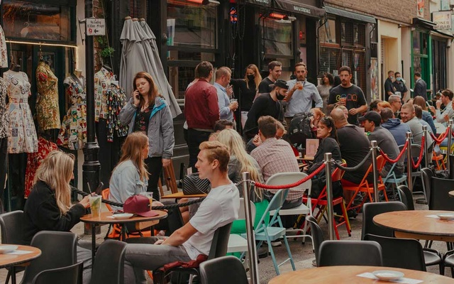 The restaurants of Soho, in London, are busier since the government started a discount campaign. Alexander Ingram for The New York Times