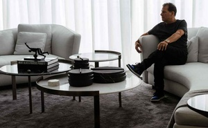 Jamie Salter, the chief executive of the Authentic Brands Group, a company known for buying the intellectual property of famous brands at discount prices, at his home in Toronto on Aug 29, 2020. The New York Times