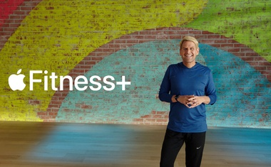 Jay Blahnik unveils Apple Fitness+ during a special event at the company's headquarters of Apple Park in a still image from video released in Cupertino, California, UN September 15, 2020. Apple Inc/Handout via REUTERS