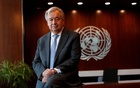 United Nations Secretary-General Antonio Guterres poses for a photograph during an interview with Reuters at UN headquarters in New York City, New York, US, September 14, 2020. REUTERS