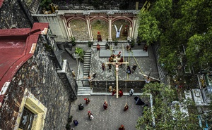 The annual Passion Play in the Iztapalapa neighbourhood of Mexico City is closed to the public, for the first time in 177 years, and broadcast on live television instead on Good Friday, April 10, 2020