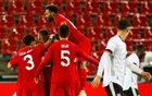 Germany's Neuhaus scores on debut in 3-3 draw with Turkey