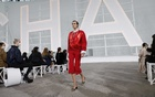 A model presents a look at the Chanel spring 2021 fashion show in Paris, Oct 6, 2020. The New York Times
