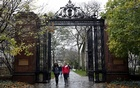 Students walk on the campus of Yale University in New Haven, Connecticut November 12, 2015. REUTERS