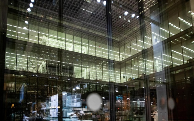 The New York Times' newsroom in New York, Feb 28, 2020. A top editor at The Times is now reviewing Times journalist Rukmini Callimachi's reporting on terrorism, which turned distant conflicts into accessible stories but drew criticism from colleagues after an arrest in Canada casted a shadow on her work and the newspaper. Jeenah Moon/The New York Times