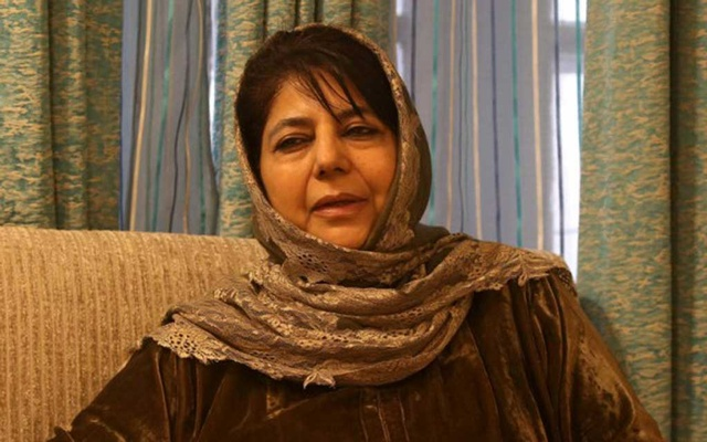 Mehbooba Mufti, former chief minister of Jammu and Kashmir. File Photo: Reuters/ Danish Ismail
