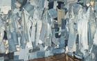 A wall of jeans in Josué Thomas's new Gallery Dept emporium in Los Angeles, Sept 5, 2020. The New York Times