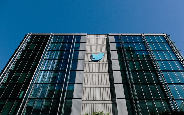 The headquarters of Twitter in San Francisco, Oct. 24, 2017. The actions of Twitter and Facebook following a New York Post story angered a chorus of Republicans, who called for Facebook and Twitter to be sued, stripped of their legal protections, or forced to account for their choices. (Jason Henry/The New York Times)