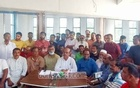 BNP candidate Sheikh Rezaul Islam announced the boycott of the by-election to Naogaon-6 at a press conference.