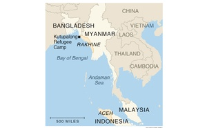 Girls and young women from refugee camps in Bangladesh, promised to men they have never met, are undertaking the dangerous journey to Malaysia to join them. The New York Times