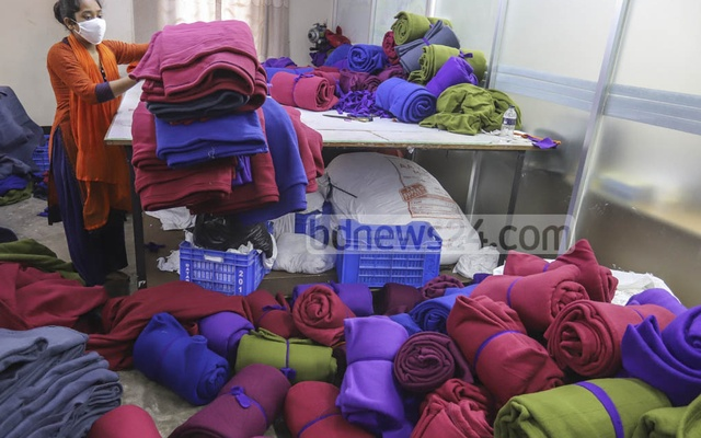 The foundation will distribute 7,000 blankets among the poor, helpless and disadvantaged people in the coastal and char areas, in collaboration with the Coast Guard and the Navy. Additionally, 10,000 socks will be handed out to children and teenagers in the char areas with the help of the Coast Guard.