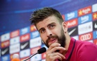 Barcelona's player Gerard Pique attends a news conference at the Joan Gamper training grounds outside Barcelona, Spain, May 18, 2016. REUTERS/Albert Gea