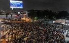 Pro-democracy protesters in Bangkok, Wednesday, Oct 21, 2020. The New York Times