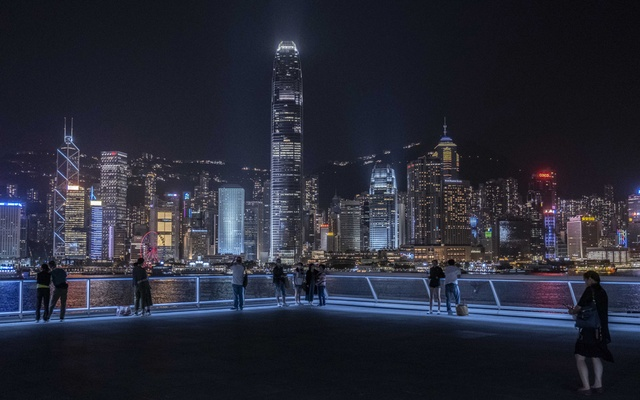 FILE - The Hong Kong skyline, Oct 10, 2020. In Western democracies, they have been welcomed as refugees escaping Beijing's tightening grip over Hong Kong. In China, they have been denounced as violent criminals escaping punishment for their seditious activities. (Lam Yik Fei/The New York Times)