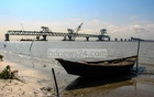 The 34th span of the Padma Bridge has been installed on piers 7 and 8, making a 5.1-km stretch of the main structure visible, Oct 25, 2020.