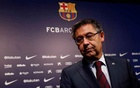 Barcelona President Josep Maria Bartomeu attends a news conference at Camp Nou stadium in Barcelona, Spain October 2, 2017. REUTERS/Juan Medina