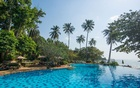 A pool at The Sea View Koh Chang resort on the island of Koh Chang in Thailand. Tripadvisor, the giant online travel review platform, warned travellers on Wednesday, Nov. 11, 2020, that the hotel was behind the jailing of a guest for his harsh reviews. (Sea View Koh Chang via The New York Times)