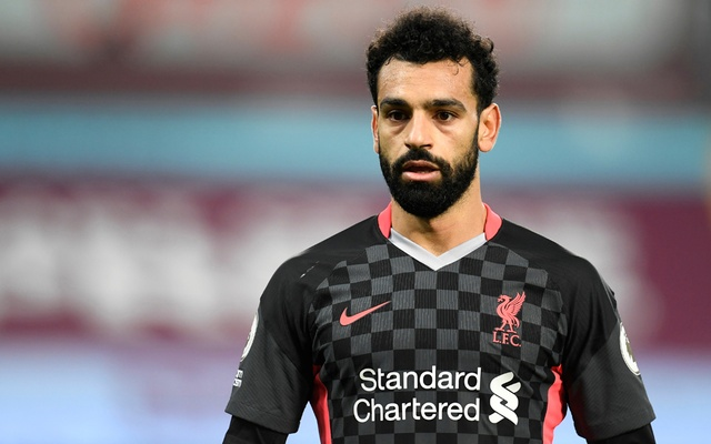 Premier League - Aston Villa v Liverpool - Villa Park, Birmingham, Britain - October 4, 2020. Liverpool's Mohamed Salah. Pool via REUTERS