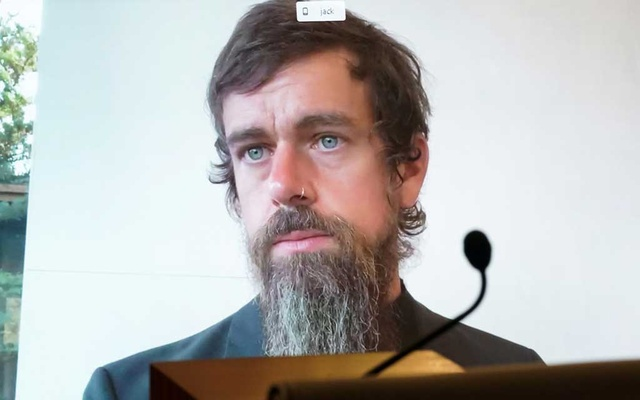 CEO of Twitter Jack Dorsey testifies remotely during the Senate Commerce, Science, and Transportation Committee hearing 'Does Section 230's Sweeping Immunity Enable Big Tech Bad Behaviour?', on Capitol Hill in Washington, DC, US, Oct 28, 2020. REUTERS