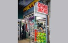 A souvenir shop in Times Square in New York on Oct 3, 2020. After the coronavirus lockdown wiped out tourism in the city, souvenir stores remain empty. (Jutharat Pinyodoonyachet/The New York Times)