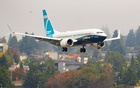 Federal Aviation Administration (FAA) Chief Steve Dickson pilots a Boeing 737 MAX aircraft on return from an evaluation flight at Boeing Field in Seattle, Washington, US September 30, 2020. Mike Siegel/Pool via REUTERS