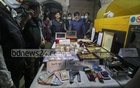 RAB seized a large cache of gold, liquor, Tk 19 million in cash and a pistol with a few rounds of ammunition during a raid on the home of Monir Hossain, a gold trader locally known as 'Golden Monir', Nov 21, 2020.