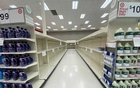 FILE PHOTO: Empty shelving of toilet paper and paper towels is shown at a Target store during the outbreak of the coronavirus disease (COVID-19) in Encinitas, California, US, March 29, 2020. REUTERS