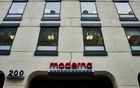 Moderna's headquarters in Cambridge, Mass. on Nov 19, 2020. (Cody O'Loughlin/The New York Times)