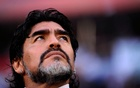 FILE PHOTO: Football - Germany v Argentina FIFA World Cup Quarter Final - South Africa 2010 - Green Point Stadium, Cape Town, South Africa - 3/7/10. Argentina coach Diego Maradona Mandatory Credit: Action Images / Jason Cairnduff /File Photo