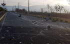 A view shows the site of the attack that killed Prominent Iranian scientist Mohsen Fakhrizadeh, outside Tehran, Iran, Nov 27, 2020. REUTERS