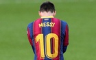 Soccer Football - La Liga Santander - FC Barcelona v Osasuna - Camp Nou, Barcelona, Spain - November 29, 2020 FC Barcelona's Lionel Messi REUTERS