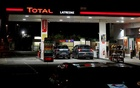 A petrol station of French oil giant Total is pictured in Latresne near Bordeaux, France, November 19, 2018. REUTERS