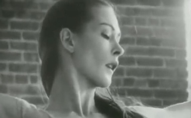 "An image from filmmaker Hilary Harris's 1966 film ""9 Variations on a Dance Theme"" of dancer Bettie de Jong. The classic experimental 1966 film, which becomes less a straightforward dance than an intimate, cinematic exploration of the moving body as it progresses, is newly relevant as dance artists look for ways to present their art form on screens. (via The New York Times)"